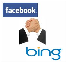 facebook and bing