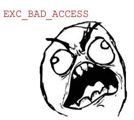 EXC_BAD_ACCESS meme