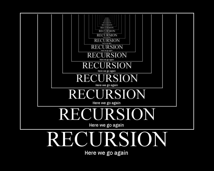 ELI5: What is Recursion ? : learnprogramming