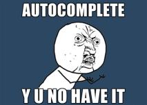 3 autocomplete